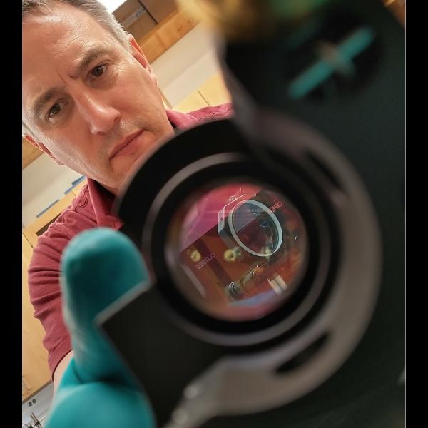 Jeff Gillis-Davis has pioneered a new method for laser space weathering