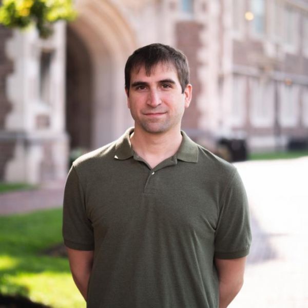 Jim Mertens recently joined the Department of Physics