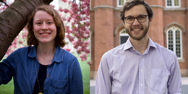 Introducing Katie Billings and Sam Patzkowsky - new grad fellows in EPS
