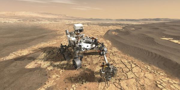 Image of NASA Perseverance Rover; Image Credit: NASA/JPL-Caltech