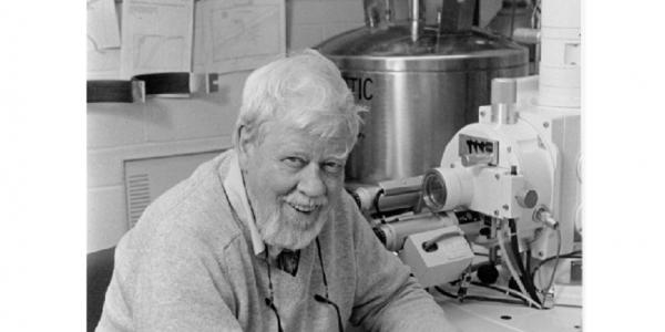 Robert Walker in his lab